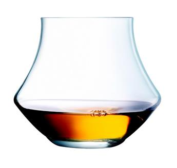 OPEN UP WARM Verre à Whisky Rhum 29 cl en Kwarx - Les 6 Chef & Sommelier