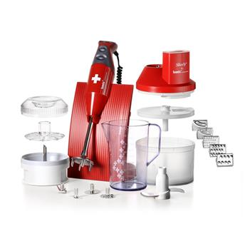BAMIX Coffret Mixeur Plongeant M200 SwissLine RED BOX