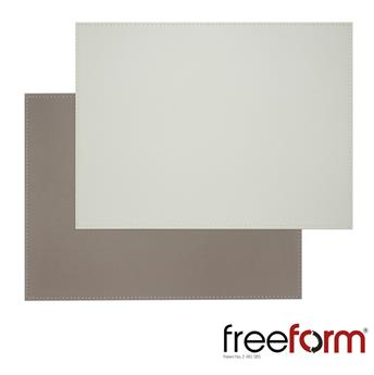 Set de Table FreeForm 40 x 30 BLANC TAUPE