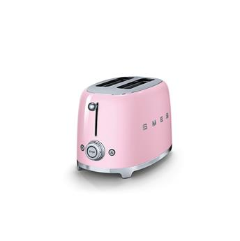 Toaster 2 tranches Grille pain Années 50 SMEG Rose