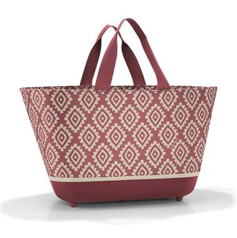 ShoppingBasket Panier de courses REISENTHEL Diamonds Rouge