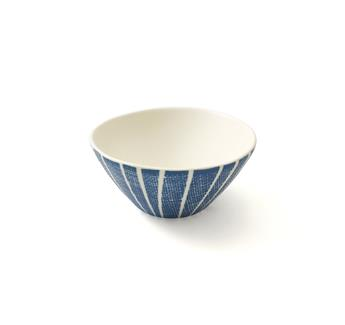 BLUE BREEZE Petit Bol Coupelle Porcelaine Easy Life D12 Bleu