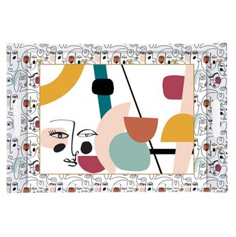 ATMOSPHERE Plateau de service rectangle mélamine 49 x 34 Modernism